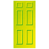 Door Decal - Lime Green