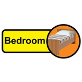 Bedroom sign - 480mm x 210mm