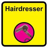 Hairdresser sign - 300mm x 300mm