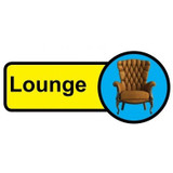 Lounge sign - 480mm x 210mm