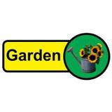 Garden sign - 480mm x 210mm