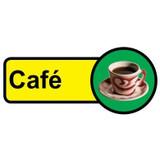 Cafe sign - 480mm x 210mm