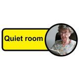 Quiet Room sign - 480mm x 210mm