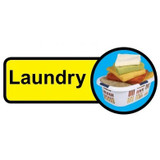 Laundry sign - 480mm x 210mm