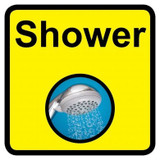 Shower sign - 300mm x 300mm