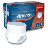 Attends Pull-Ons 3 - Large - Pack of 14