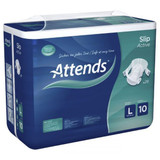 Attends Slip Active 10 - Large - Pack of 28