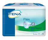 TENA Flex Super Belted Incontinence Pads - Large
