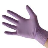 Purple Nitrile Gloves Powderfree Large