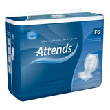 Attends F6 Faecal Incontinence Pads - Pack of 40 Pads