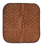 Abri-Soft Absorbent Chair Protector - Brown