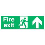 Fire Exit Running Man Arrow Up