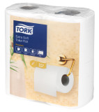 Tork Extra Soft Conventional Toilet Rolls 2-Ply, White, 200 Sheet