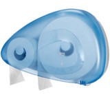 Jumbo Toilet Roll Dispenser Blue 59mm Core