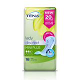 Tena Lady Discreet Mini Plus - Pack of 16 Incontinence Pads
