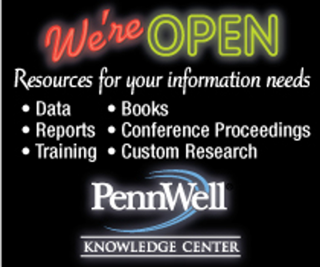 Welcome to New PennWell Knowledge Center