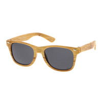 wooden kids wayfarer sunglass-natural