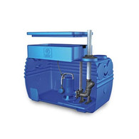 300L/Min 21m Lift Single Macerator Pump Zenit Blue Box w/ Controller
