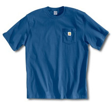 Carhartt Royal Blue Pocket T-Shirt