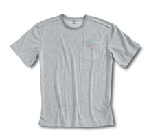 Carhartt Heather Gray Short Sleeve Work-Dry T-Shirt