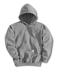 Carhartt Heather Gray Pullover Hooded Sweatshirt