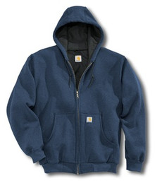 Carhartt Navy Hooded Sweatshirt