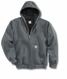 Carhartt Charcoal Heather Hooded Sweatshirt