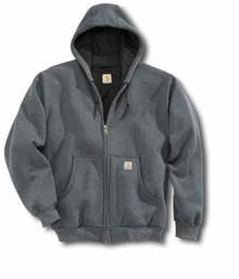 Carhartt Charcoal Heather Hooded Sweatshirt