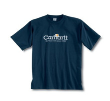 Carhartt Navy Logo T-Shirt
