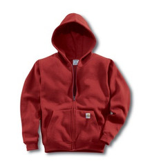 Carhartt Red Boys Hooded Sweatshirt