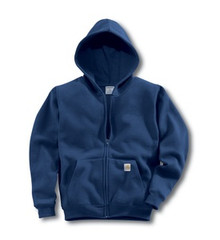 Carhartt Navy Boys Hooded Sweatshirt