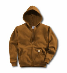 Carhartt Brown Boys Hooded Sweatshirt