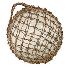 """Palecek 12"""" Glass Float with Net"""