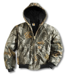 Carhartt Camouflage Duck Jacket -- Tall