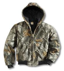 Carhartt Camouflage Duck Jacket -- Tall