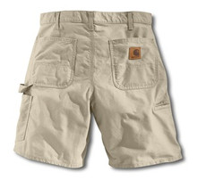 Carhartt Tan Work Shorts