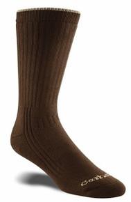 Carhartt Ultimate Brown Cotton Blend Work Sock