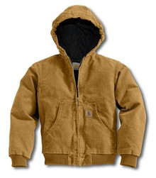 Carhartt Boys Brown Sandstone Active Jacket