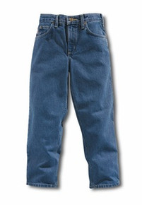Carhartt Boys Stonewash Denim Jean