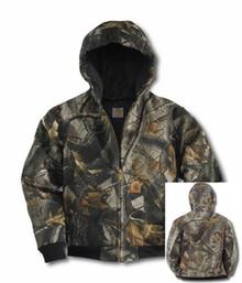 Carhartt Camouflage Boys Active Jacket