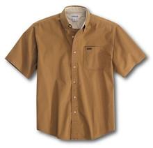 Carhartt Buckskin Brown Twill Shirt