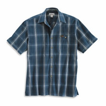 Carhartt Dark Blue Plaid Shirt