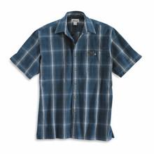 Carhartt Dark Blue Plaid Shirt