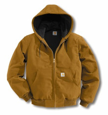 Carhartt Brown Duck Active Jacket -- Regular
