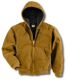 Carhartt Brown Sandstone Active Jacket -- Regular