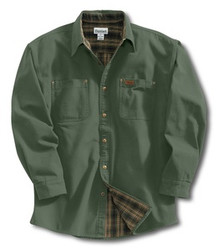 Carhartt Moss Canvas Shirt Jacket -- Tall