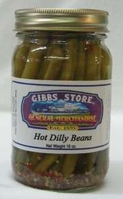 Hot Dilly Beans
