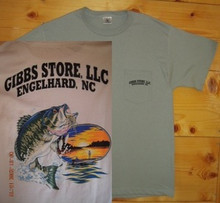 Gibbs Store White Fisherman Short Sleeve T-Shirt