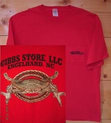 Gibbs Store Red Crab Short Sleeve T-Shirt