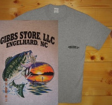 Gibbs Store Light Gray Fisherman Short Sleeve T-Shirt